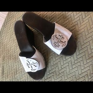 Tory Burch clogs/mules size 8